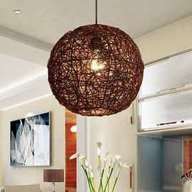 Pretty Design Alloy Round Shape Pendant Light