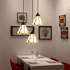 Unique Pastoral 3-Head Dining Room Pendant Lights