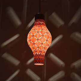 Wonderful Lantern Design Wood Pendant Light