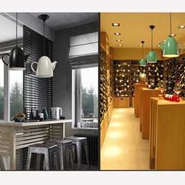 Creative Iron Coffee Shop or Bar Decorative Ceiling Light