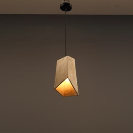 Wonderful Cement Irregular Shape Home Decorative Pendant Light
