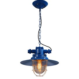 Colorful Iron Decorative Chain Pendant Light