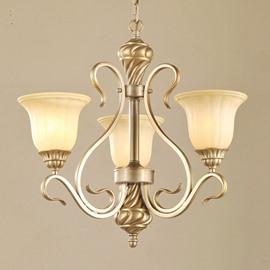 Elegant Iron European Style for Living Room Decoration Pendant Light