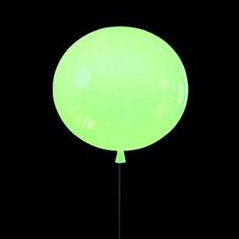 Pretty Modern Acrylic Green Balloon Shape Wall Lights