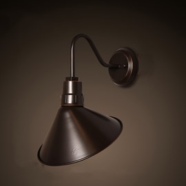 Classic Simple Style Hardware 1-Head Decorative Wall Light
