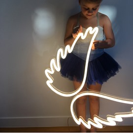 Angel Wing Shape for Child &Adult Led Wall Light