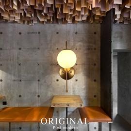Post-Modern Style Ball Shape LED Artistic Wall Light