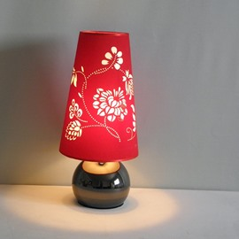 Comtemporary Cute Amazing Fabric Shade 1 Light Lamp