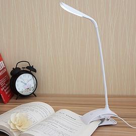 Dimmable Eye-Care Touch-Sensitive Control Panel LED Clamp Desk Lamp