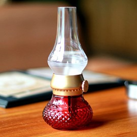 Classic Red Bottle Shape LED Night Light
