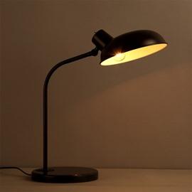 Decorative Iron Frame Rotated Head Design Table Lamp