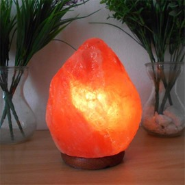 Natural and Creative Irregular Himalayan Salt Crystal Energy Saving Lamp