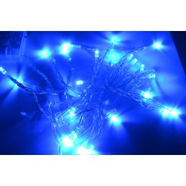 Wonderful Christmas Decoration 40 Heads LED Battery-Operated Strip Lights