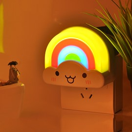 Creative Lightness-Operated Colorful Rainbow Design LED Nightlight