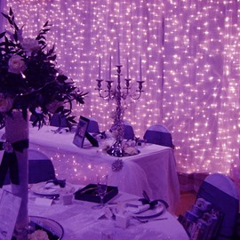 Purple Waterproof LED String Lighting for Wedding or Festival Decoration