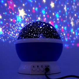 Creative Romantic Stars Projector LED Light