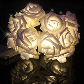 Beautiful Home Decorative Roses Shape LED Night Lights