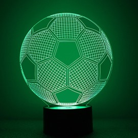 Simple Acrylic Football Shape LED Nightlight