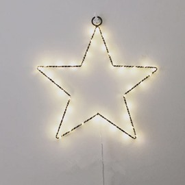 Bright Fashion Pentagram Star Shape Design Room Decoration LED String Lights