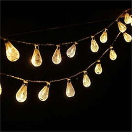 Creative and Modern Style Little Water droplets Shape Design 1.5 Meter Strip LED Lights