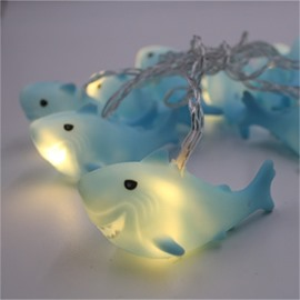 Hot Selling Small Fishes Modern and Fashion Children's Room Feast Decorative LED Night Lights