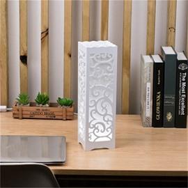 Concise and Romantic Creative European Style Wood Plastic USB Night Lamp