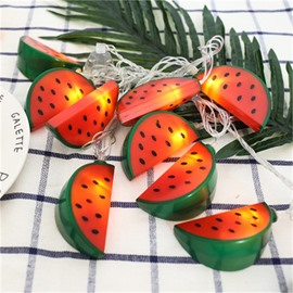 Fruit Shape Christmas Decoration Plastic Battery LED Lights