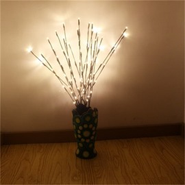 LED Bulbs Tree Branch Battery Art Decoration LED Lights