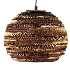 Wonderful Pretty Alloy and Paper Round Shape Pendant Lights
