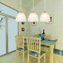 Modern Simple LED 3-Head Pendant Lights