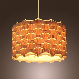 Unique Drum Design Dinging Room Study Pendant Light