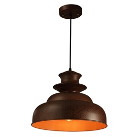 European Style Simple Black Iron Chain Pendant Light