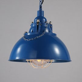 Colorful Iron Semicircle Shape Decorative Pendant light