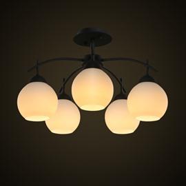 Amazing European Style Five Bulbs Durable Decorative Pendant Lights