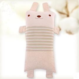 Rabbit Shape Antistatic Organic Cotton Baby Sleeping Pillows
