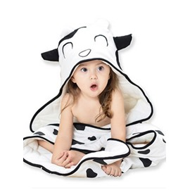 New Arrival Lovely Cow Shape Thickening Cotton Baby Sleeping Bags