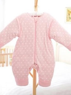 Super Romantic Cozy Pink Baby Sleeping Bag