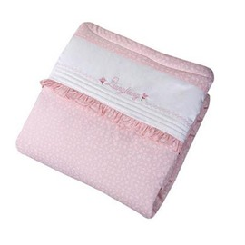 Wonderful Pretty Cotton Pink Comfortable Baby Quilts
