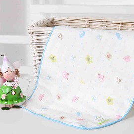 Creative Lovely Bear Stars Printing Baby Blanket