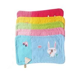 Cute Cartoon Rabbit Printed One Piece Cotton Baby Pillowcase