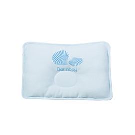 Lively Shell Print Prevent Flat Head Baby Pillow