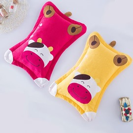 Classic Design Cow Print Baby Sleeping Pillow