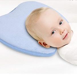 Super Soft Memory Foam Pillow Prevent Flat Head Baby Pillow