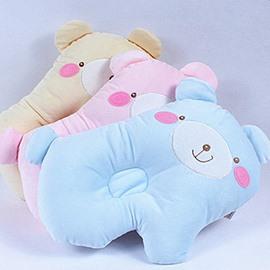 Cute Cartoon Bear Design Prevent Flat Head Baby Pillow