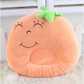 Cute Strawberry Shape Prevent Flat Head Baby Pillow
