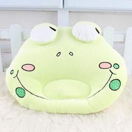 Super Lovely Frog Design Prevent Flat Head Baby Pillow