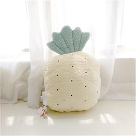 Pineapple Shape Plush Yellow Baby Throw Pillow