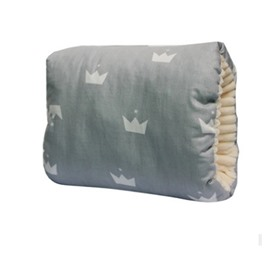 Gray Crown Simple Style Nursing Breastfeeding Pillow