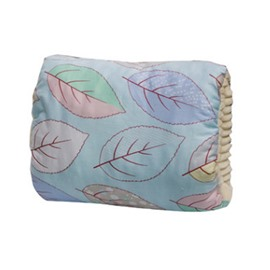 Blue Leaves Simple Style Nursing Breastfeeding Pillow