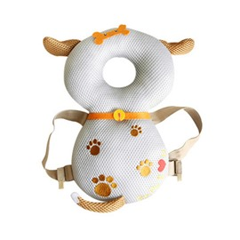 Dog Buckle Polyester and PP Cotton 1-Piece White Anti-Tumbling Best Toddlers Pillow
